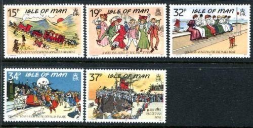 Isle of Man 413-417, MNH, Ship, s7419