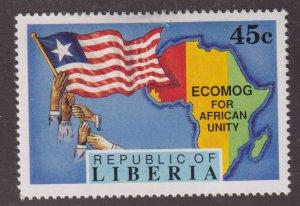 Liberia 1149 National Unity 1991