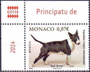 Monaco. 2014. Dogs. MNH.