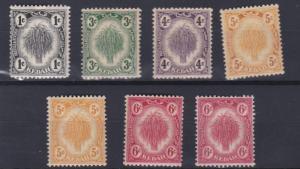 KEDAH  1922 - 40         S G  52 - 56A         VARIOUS  VALUES  TO 6C  MH