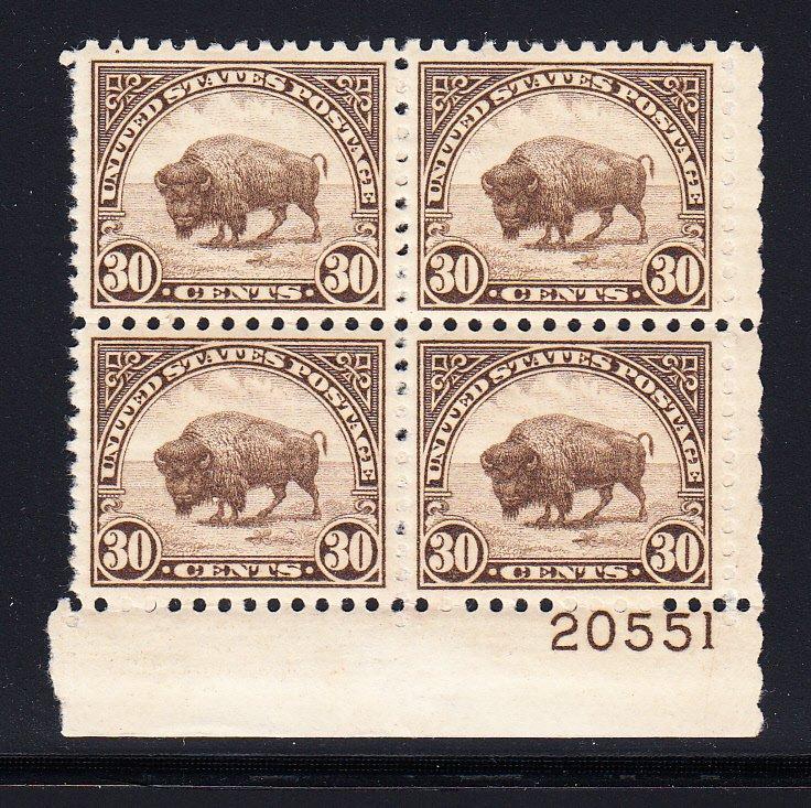 #692-700 VF/XF NH Plate blocks