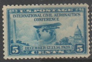 U.S. Scott #650 Airplane Stamp - Mint Single