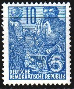 GDR. 1955. 453 from the series. Artisans. MNH.