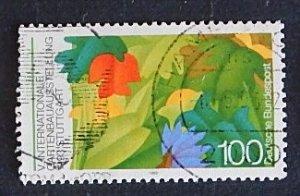 Germany, Flower, (№1566-Т)