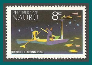 Nauru 1973 Definitives, 8c Fishing, MNH  #97,SG105