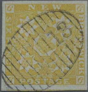 MOMEN: NEW BRUNSWICK SG #2b USED *CERT* LOT #60208