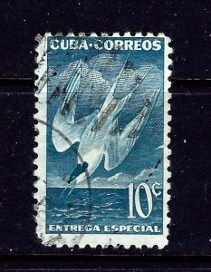 Cuba E18 Used 1953 special delivery