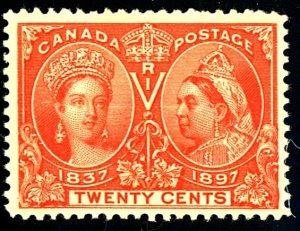 Canada #59 MINT OG HR