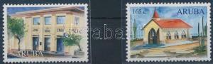 Aruba stamp House set MNH 2000 Mi 256-257 Building WS231152