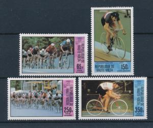 [60993] Burkina Faso Upper Volta 1980 Olympic games Moscow Cycling MNH