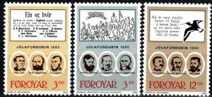 Faroe Islands #179-81 MNH CV $6.50 (X9306)