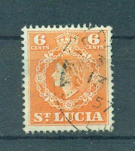 St. Lucia sc# 162 used cat value $.25