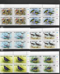 Barbuda 238-43 MNH Bird set cpl x 7, vf. see desc. 2020 CV $62.00