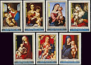 Equatorial Guinea MNH 7223-9 Christmas Paintings 1971