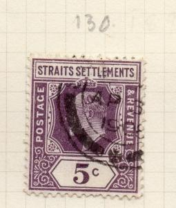 Malaya Straights Settlements 1904 Early Issue Fine Used 5c. 278344