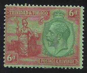 Trinidad and Tobago SC 28 6p MH F/VF