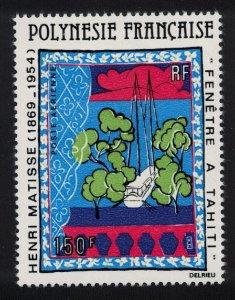 Fr. Polynesia Painting 'Window in Tahiti' by Henri Matisse SG#320