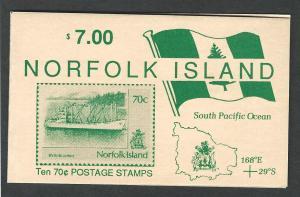 Norfolk Island MNH booklet  sc 484 / sg sb3
