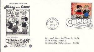1995, Comic Strip Classics-Nancy & Sluggo, Artcraft/PCS, FDC (E8177)