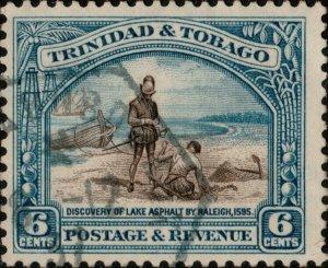 TRINIDAD & TOBAGO 1937 COLON À BORDEAUX / L.D.N°3 French Ship DS on SG233a