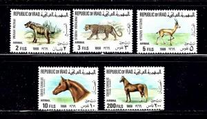 Iraq C27 31 MNH 1969 Animals