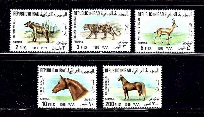 Iraq C27 31 MNH 1969 Animals