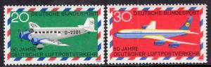 Germany 993-994 Airplanes MNH VF