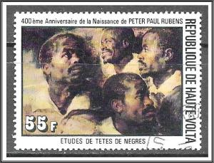 Upper Volta #446 Rubens Paintings CTO