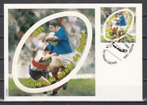 France, Scott cat. 2737. Rugby issue. Maximum Card.