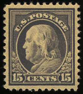 US #514 SCV $500.00 XF-SUPERB mint never hinged, near perfect centering,  SUP...