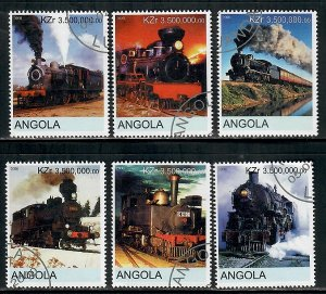 Angola Used Steam Locomotives complete set CTO