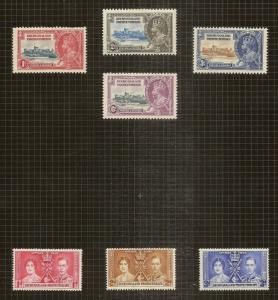 Bechuanaland - Album Pages with GV-QEII Mint & Used Collection Cat£365