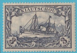 GERMAN COLONIES KIAUCHAU 21 NO FAULTS MINT HINGED OG SUPERB ! YACHT