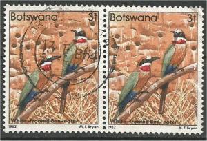 BOTSWANA, 1982, used 3t, Birds Scott 305