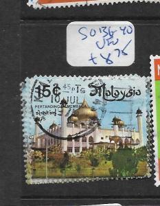 MALAYSIA  (PP0907B)  SG 136-40     VFU
