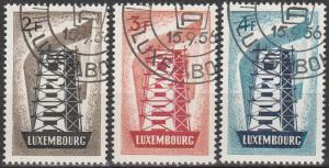 Luxembourg #318-20 F-VF Used CV $56.35   (S8587)
