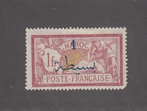French Morocco Scott #37 MH Note