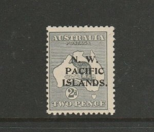 New Guinea 1915/6 Kangaroo 2d MM SG 94