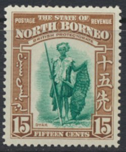 North Borneo  SG 311 SC# 201 MLH    - See scans and details