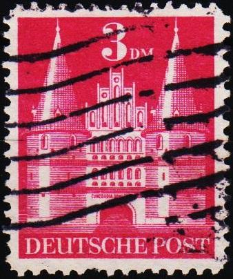 Germany.1948 3dm S.G.A134 Fine Used