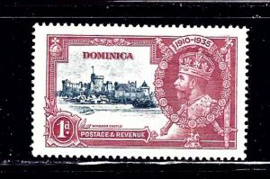 Dominica 90 MNH 1935 KGV Silver Jubilee