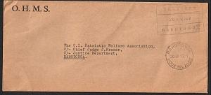 COOK IS 1972 Local Rarotonga official cover : Treasury frank..............14910W