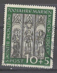 COLLECTION LOT # 5330 GERMANY #B316 1951 CV+$60