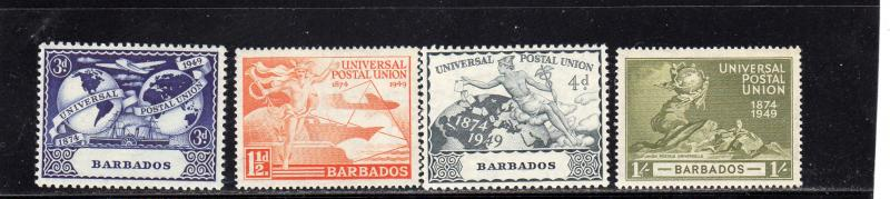 Barbados Anniv of U.P.U.  MNH