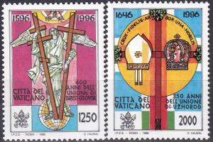 Vatican City #1002-3  MNH CV $4.10  Z81
