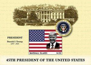 2020/12 - MARSHALL ISLANDS - JOE BIDEN PRESIDENT  1V  complet set    MNH ** T