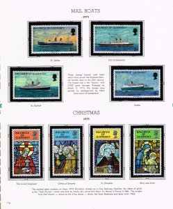 UK STAMP Guernsey MNH STAMP COLLECTION LOT   #3