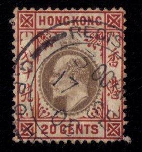 HONG KONG SCOTT #78 USED VERY FINE