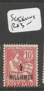Port Said SC 58 MNH (2cpo)