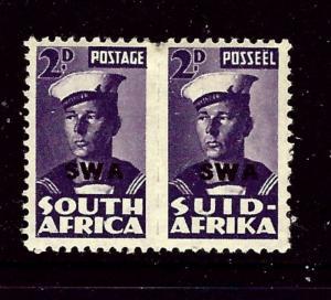 Southwest Africa 147 MH 1942 overprint Pair